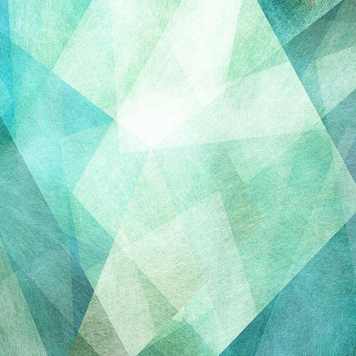 baskılı fon perde geometrik renkli şekil desenli