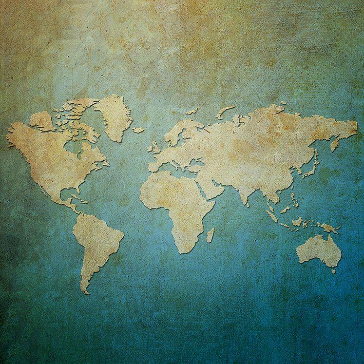 baskılı fon perde kağıt arka plan dünya harita desenli
