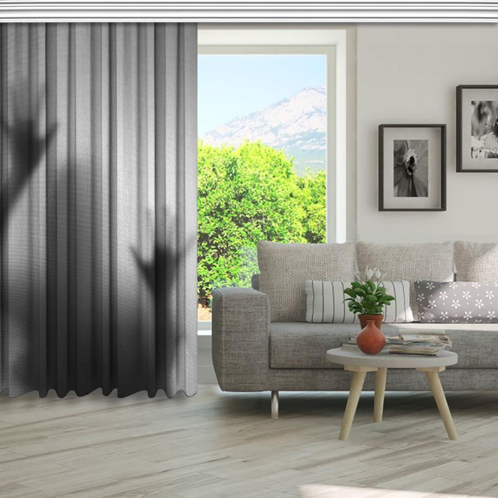 baskılı fon perde korku buzlu cam adam gölge desenli