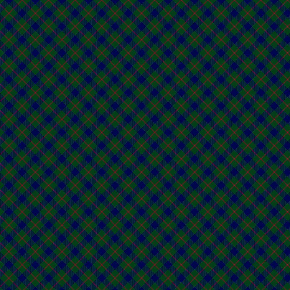 baskılı fon perde koyu yeşil saks kırmızı renkli tartan ekose desen