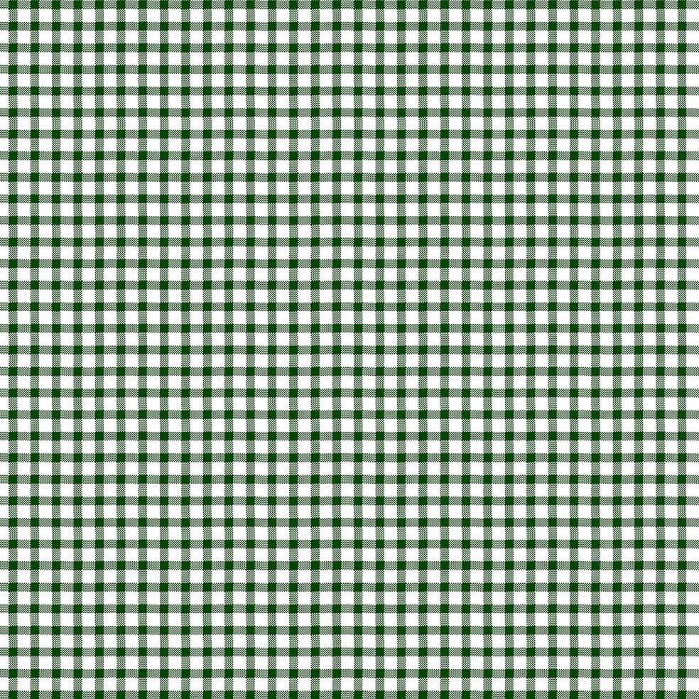 baskılı fon perde küçük kare tartan ekose desen yeşil renk