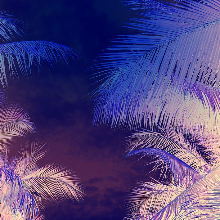 baskılı fon perde mor ve krem renk etkili tüy desenli
