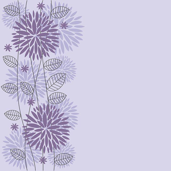 baskılı fon perde morlu arka plan çiçek desenli