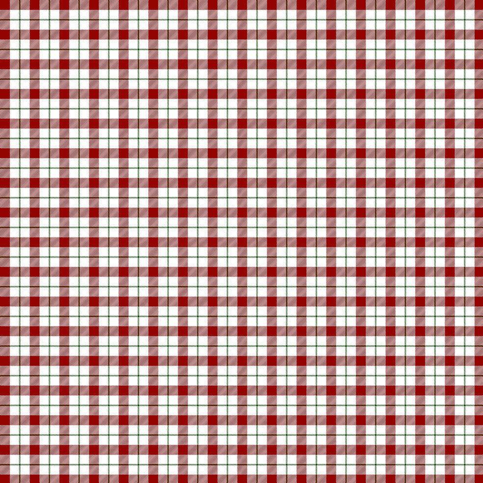 baskılı fon perde noel yeniyıl kırmızı yeşil beyaz tartan ekose desen