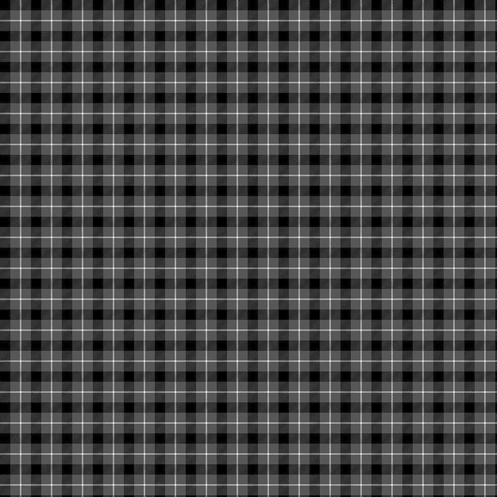 baskılı fon perde noel yeniyıl siyah gri beyaz tartan ekose desen