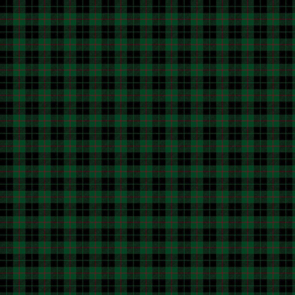 baskılı fon perde noel yılbaşı siyah yeşil ince kırmızı çizgili ekose