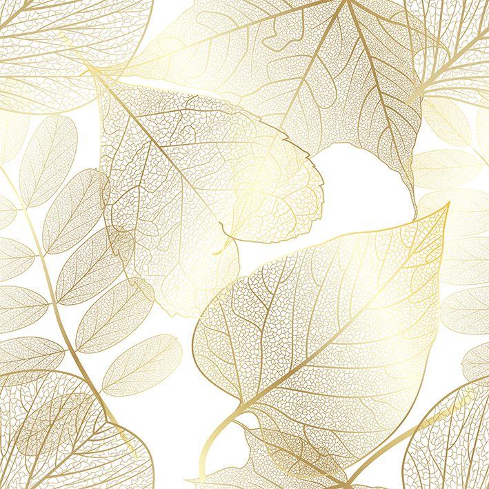 baskılı fon perde parıltılı altın sonbahar yaprak desenli