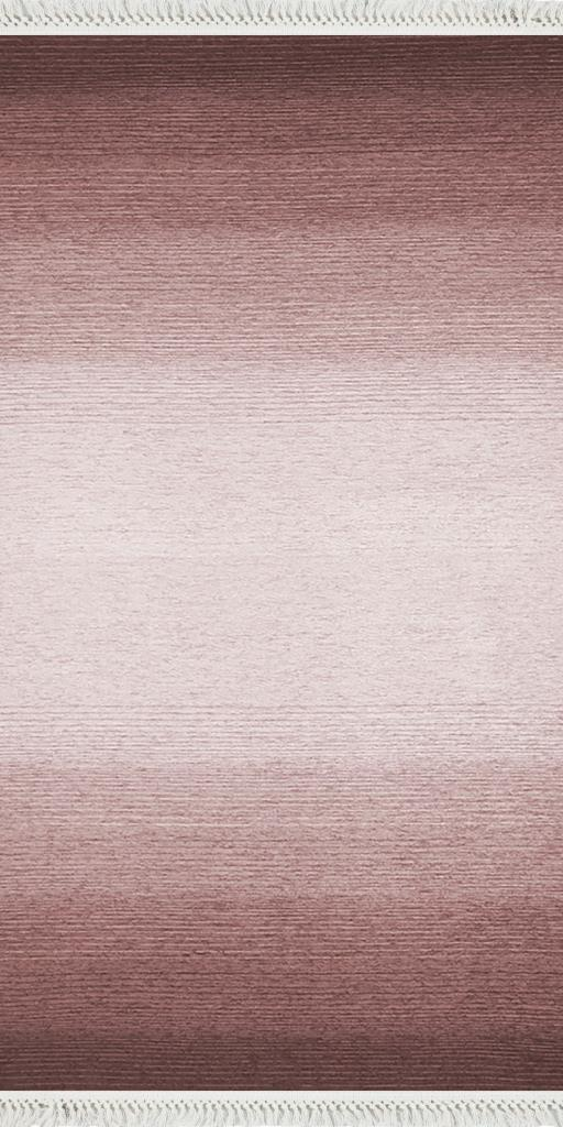 baskılı kilim modern eskitme efekt çizgili gülkurusu pembe