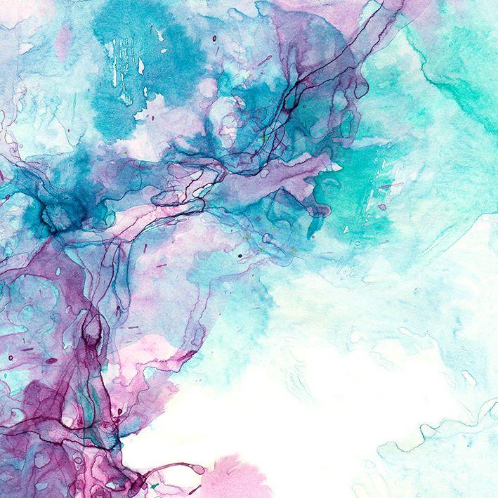 baskılı fon perde renk karmaşık desenli turkuaz mor