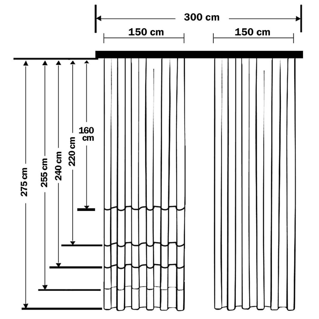 baskılı fon perde siyah arka plan etkili pembe yaprak desenli