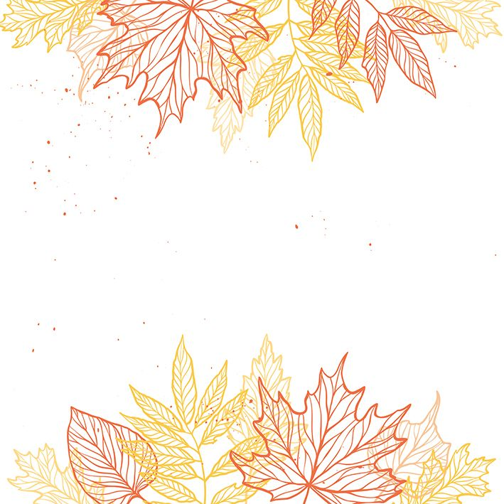 baskılı fon perde sonbahar yaprakları orman tasarım desenli