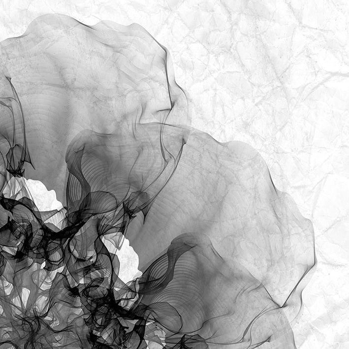 baskılı fon perde soyut arka plan gri dokulu çiçek desenli