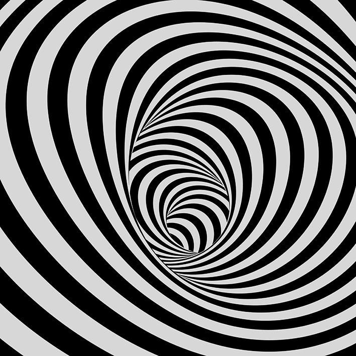baskılı fon perde tünel siyah ve beyaz çizgili arka plan desenli