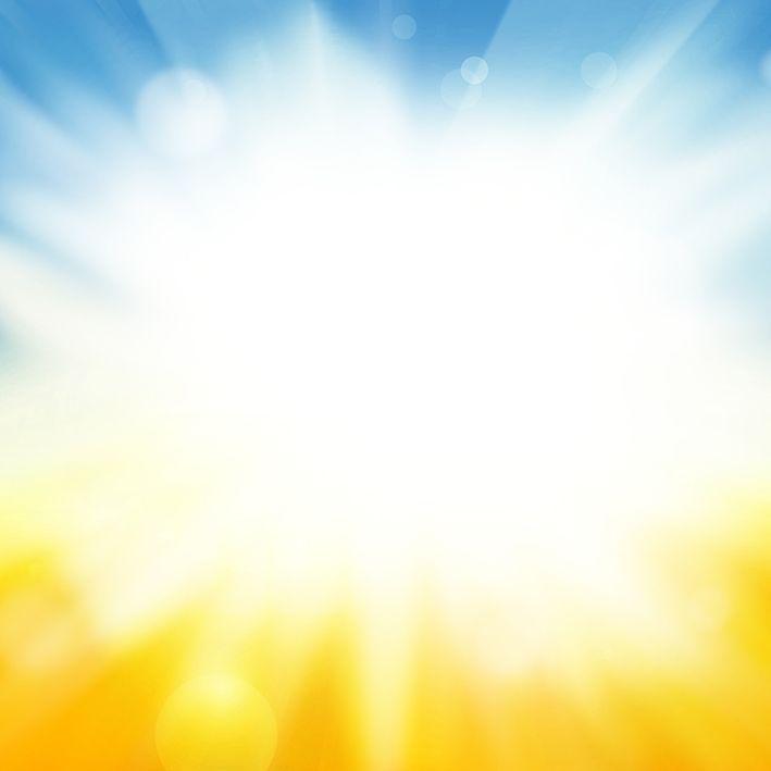 baskılı fon perde yaz güneş ışığı desenli sarı