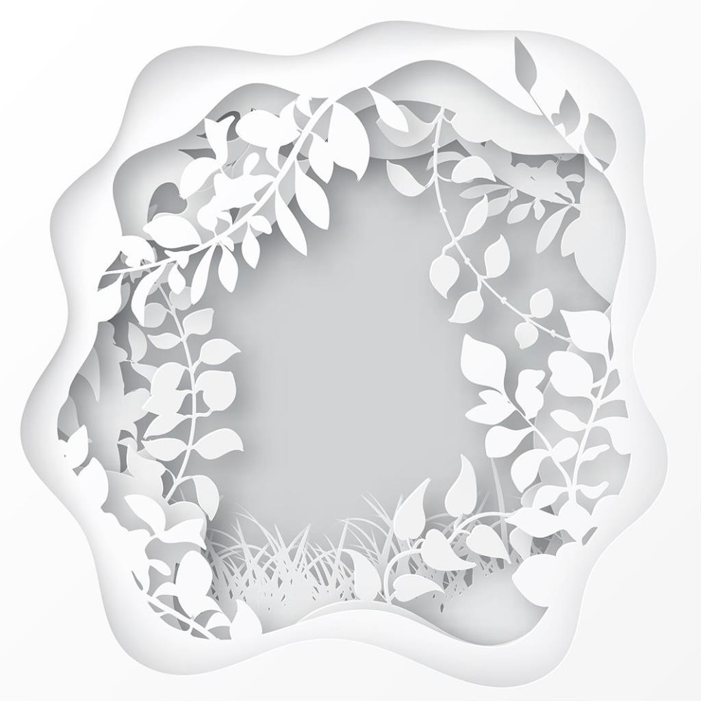 baskılı fon perde yaz orman bahar dal yaprak desenli