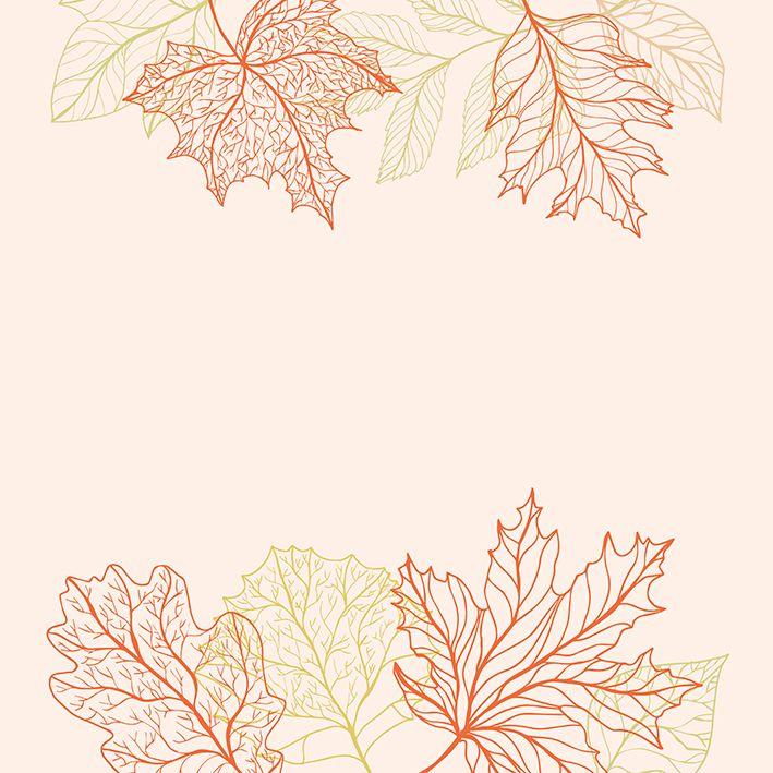 baskılı fon perde yeşil ve turuncu yaprak desenli