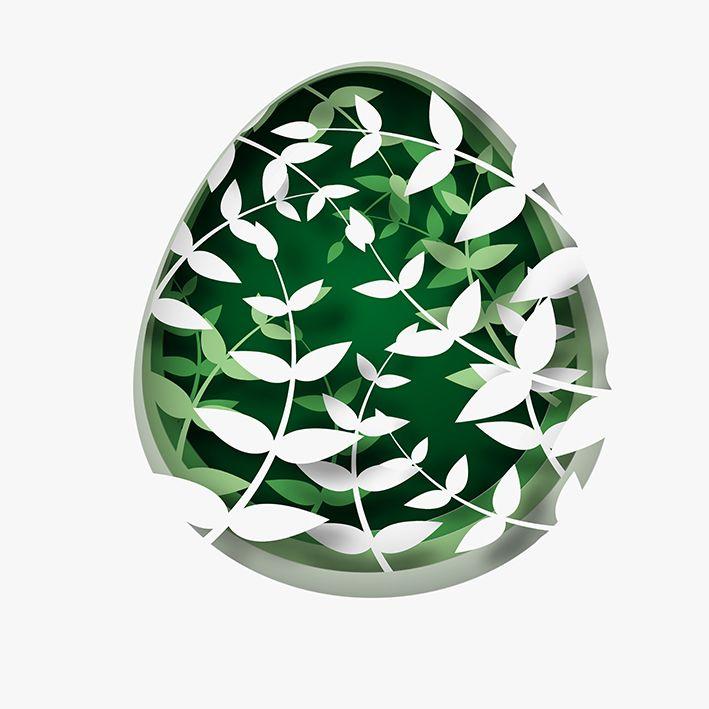 baskılı fon perde yumurta şeklinde yeşil çiçek desenli